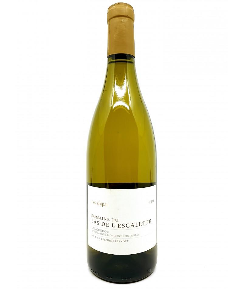 Languedoc - Domaine du Pas de l'Escalette - Les Clapas Blanc - 2018 26,00€ vin bio, vin en biodynamie, boutique Une Note De Vin