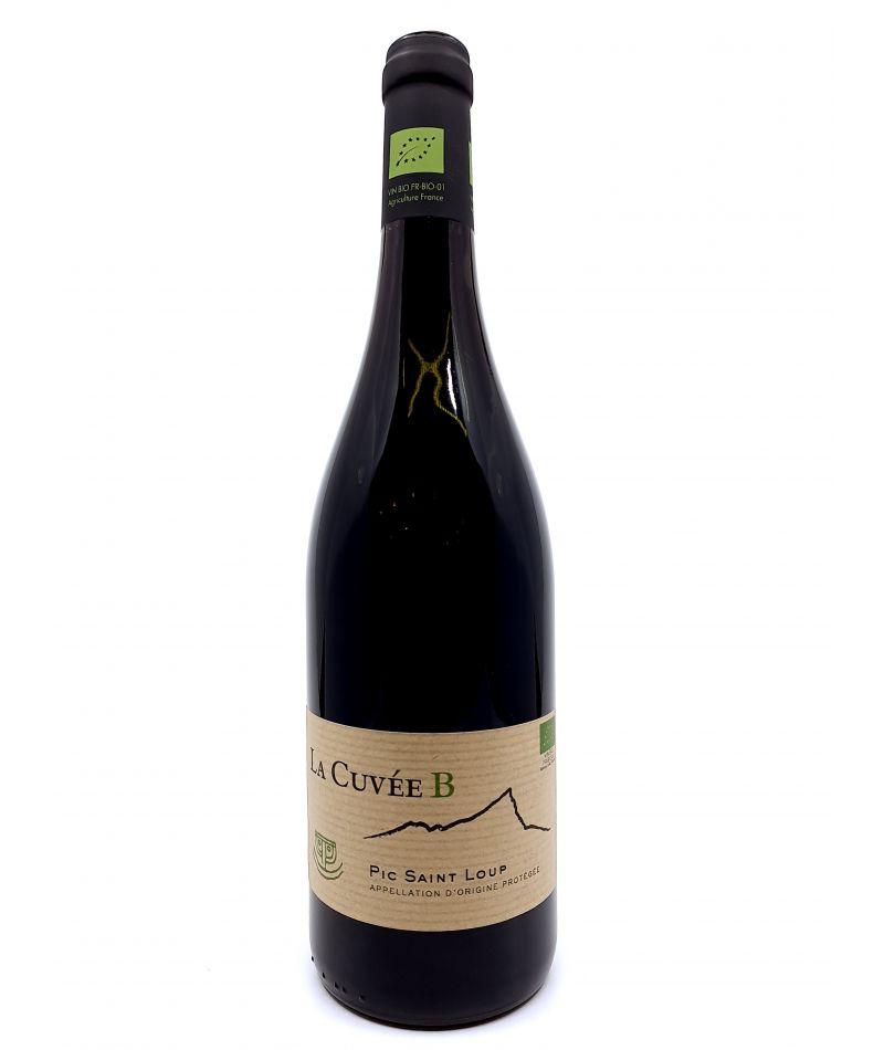 Pic Saint-Loup - Vignobles des 3 Châteaux - Cuvée B - 2018 13,50€ vin bio, vin en biodynamie, boutique Une Note De Vin