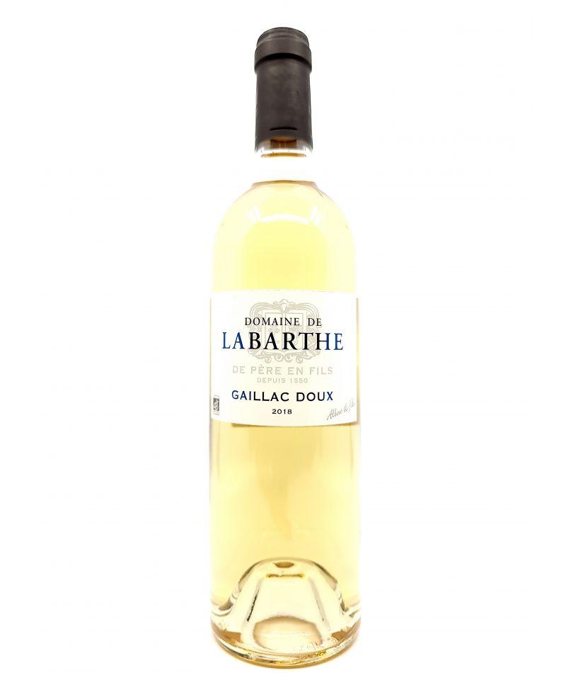 Gaillac Doux - Domaine Labarthe - 2019 15,00€ vin bio, vin en biodynamie, boutique Une Note De Vin
