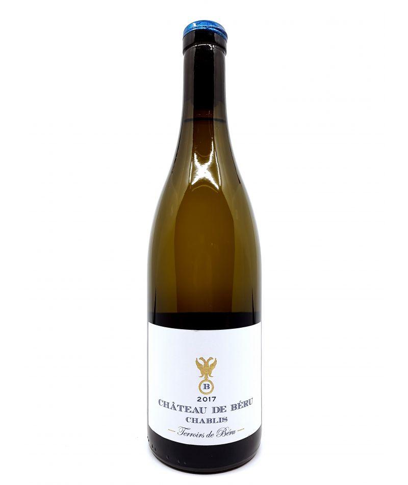 Chablis - Château de Béru - Térroirs de Béru - 2017 29,00€ vin bio, vin en biodynamie, boutique Une Note De Vin