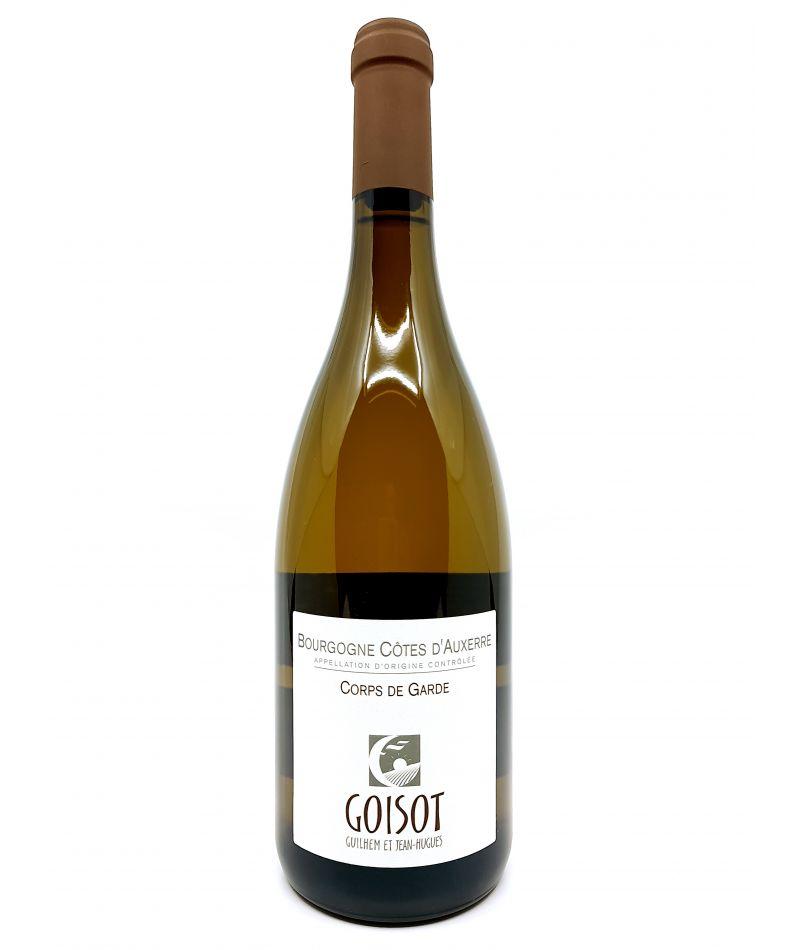Côtes d'Auxerre - Domaine Goisot - Corps de Garde Blanc - 2017 18,50€ vin bio, vin en biodynamie, boutique Une Note De Vin