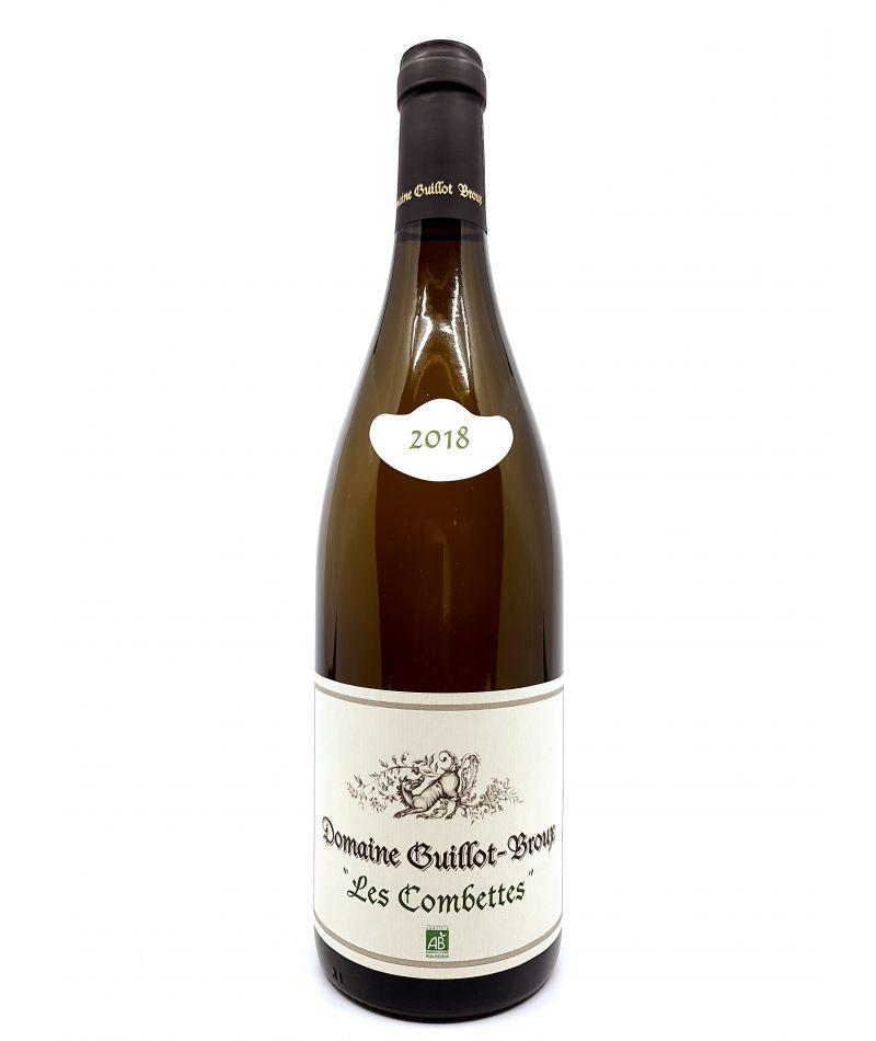 Macon blanc - Domaine Guillot-Broux - Les Combettes - 2018 30,00€ vin bio, vin en biodynamie, boutique Une Note De Vin