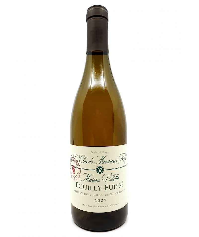 Pouilly-Fuissé - Maison Valette - Clos De Monsieur Noly - 2007 84,00€ vin bio, vin en biodynamie, boutique Une Note De Vin