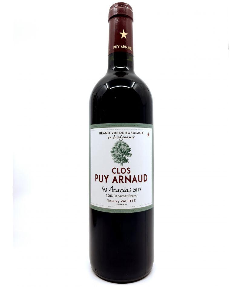 Castillon Côtes de Bordeaux - Puy Arnaud - Les Acacias - 2017 21,00€ vin bio, vin en biodynamie, boutique Une Note De Vin