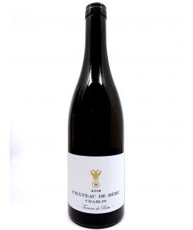 Chablis - Château de Béru - Térroirs de Béru - 2018 29,00€ vin bio, vin en biodynamie, boutique Une Note De Vin