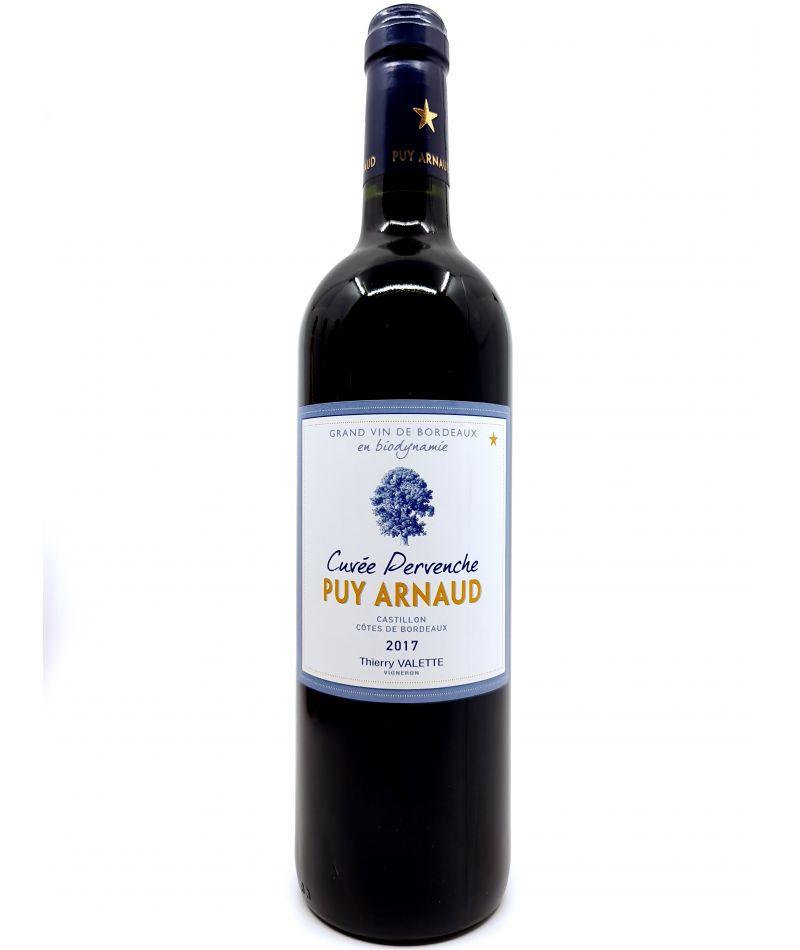 Castillon Côtes de Bordeaux - Puy Arnaud - Cuvée Pervanche - 2017 16,00€ vin bio, vin en biodynamie, boutique Une Note De Vin