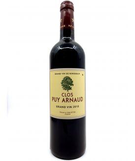 Castillon Côtes de Bordeaux - Puy Arnaud - Clos Puy Arnaud - 2015 43,00€ vin bio, vin en biodynamie, boutique Une Note De Vin