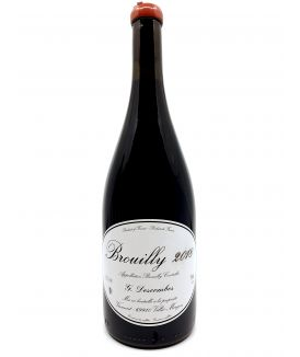 Beaujolais - Georges Descombes - Brouilly Vieilles Vignes - 2018 21,50€ vin bio, vin en biodynamie, boutique Une Note De Vin