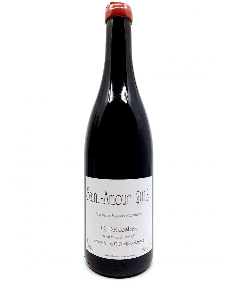 Beaujolais - Georges Descombes - Saint-Amour Vieilles Vignes - 2018 22,00€ vin bio, vin en biodynamie, boutique Une Note De Vin