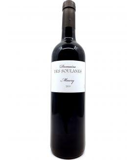 Maury Rouge - Domaines des Soulanes - Vin Doux Naturel -2019 15,00€ vin bio, vin en biodynamie, boutique Une Note De Vin