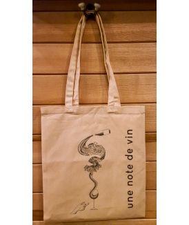 Tote Bag Une Note De Vin 15,00€ vin bio, vin en biodynamie, boutique Une Note De Vin