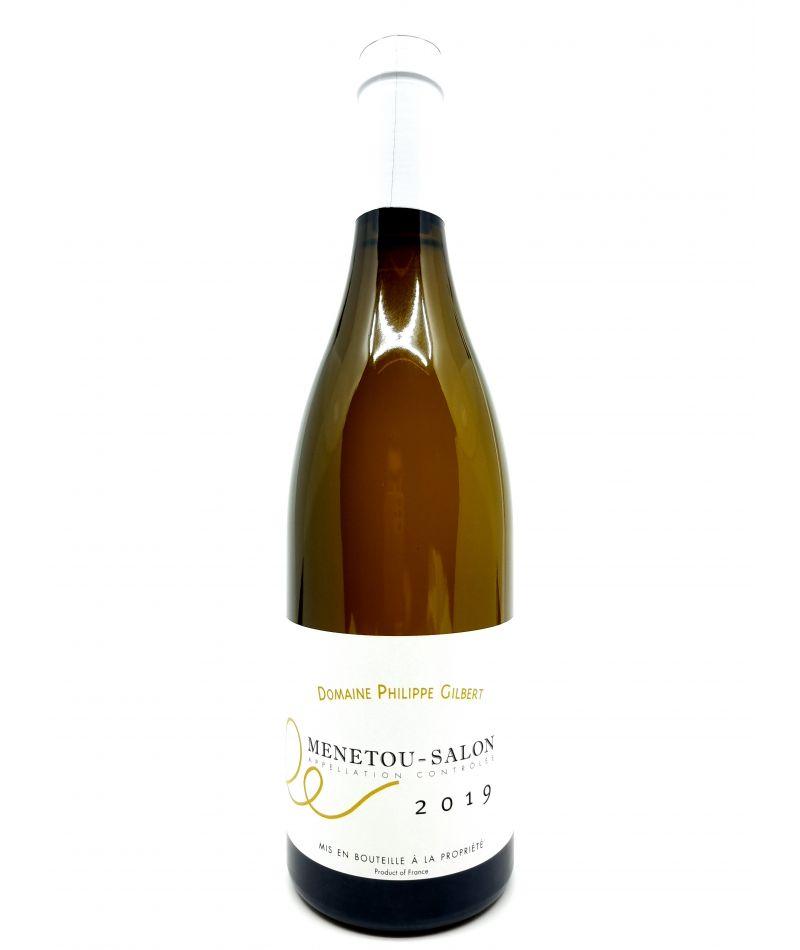 Menetou-Salon - Domaine Philippe Gilbert - Cuvée Domaine Blanc - 2019 19,00€ vin bio, vin en biodynamie, boutique Une Note D...