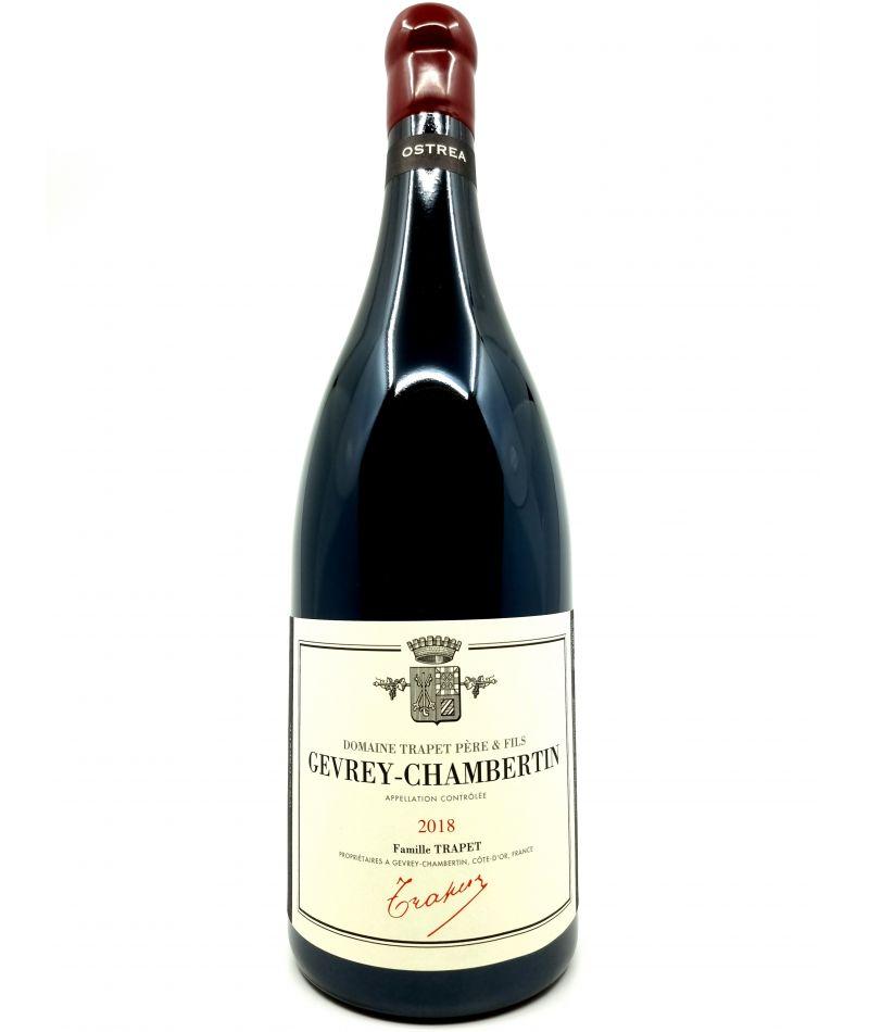 Magnum Gevrey-Chambertin - Jean-Louis Trapet - Ostréa - 2018 166,00€ vin bio, vin en biodynamie, boutique Une Note De Vin