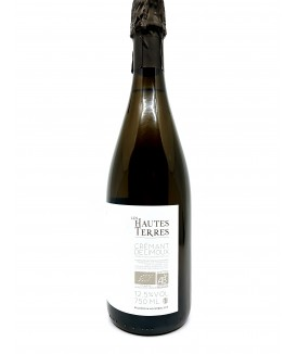 Crémant de Limoux - Domaine des Hautes Terres - Joséphine - Brut Nature 19,00€ vin bio, vin en biodynamie, boutique Une Note...