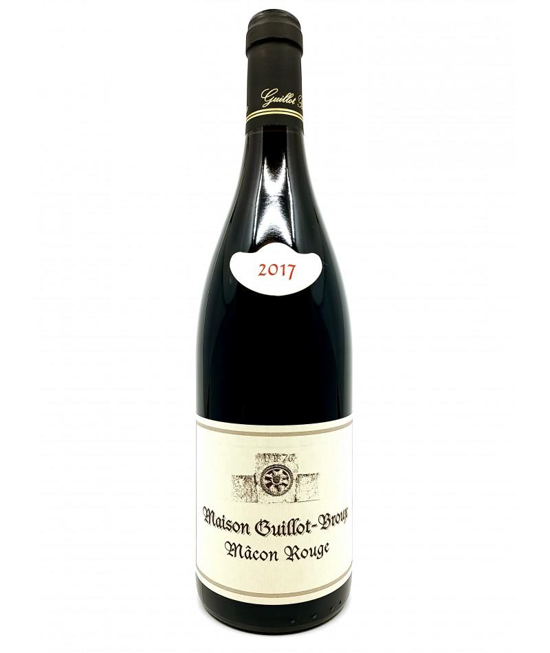 Macon rouge - Domaine Guillot-Broux - 2017 20,00€ vin bio, vin en biodynamie, boutique Une Note De Vin