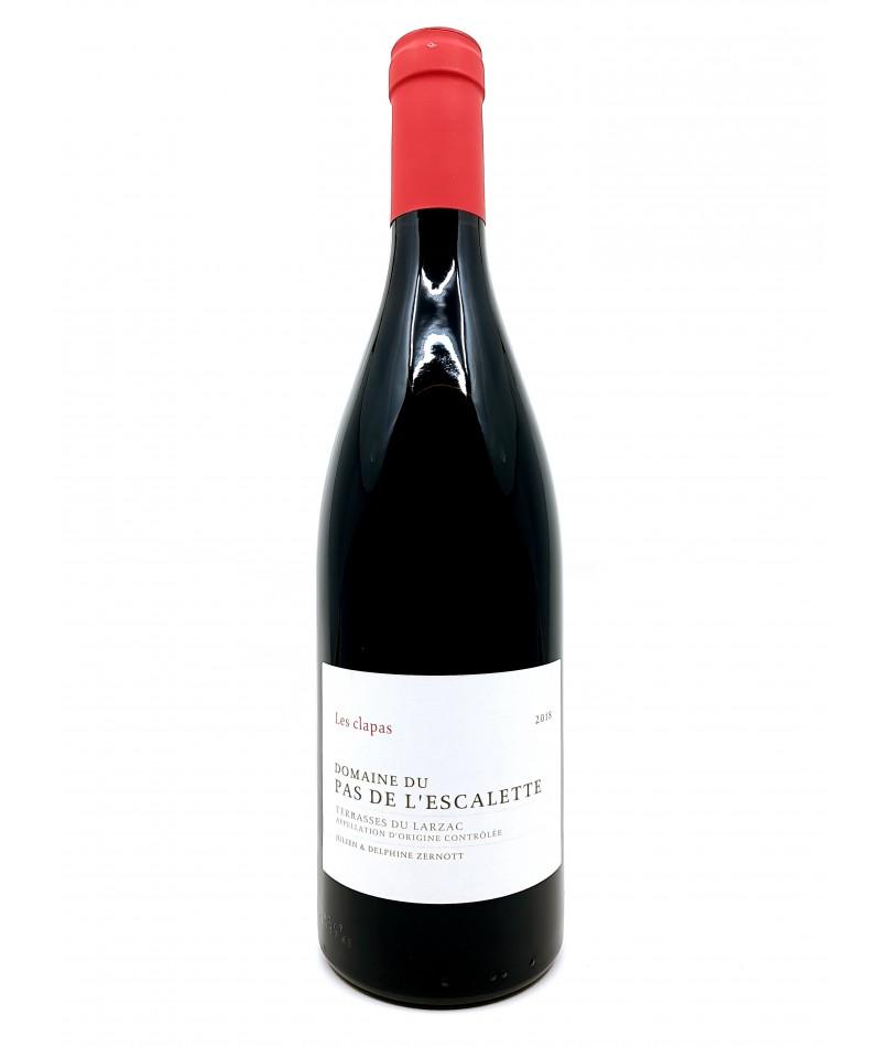 Terrasses du Larzac - Domaine du Pas de l'Escalette - Les Clapas Rouge - 2019 20,00€ vin bio, vin en biodynamie, boutique Un...